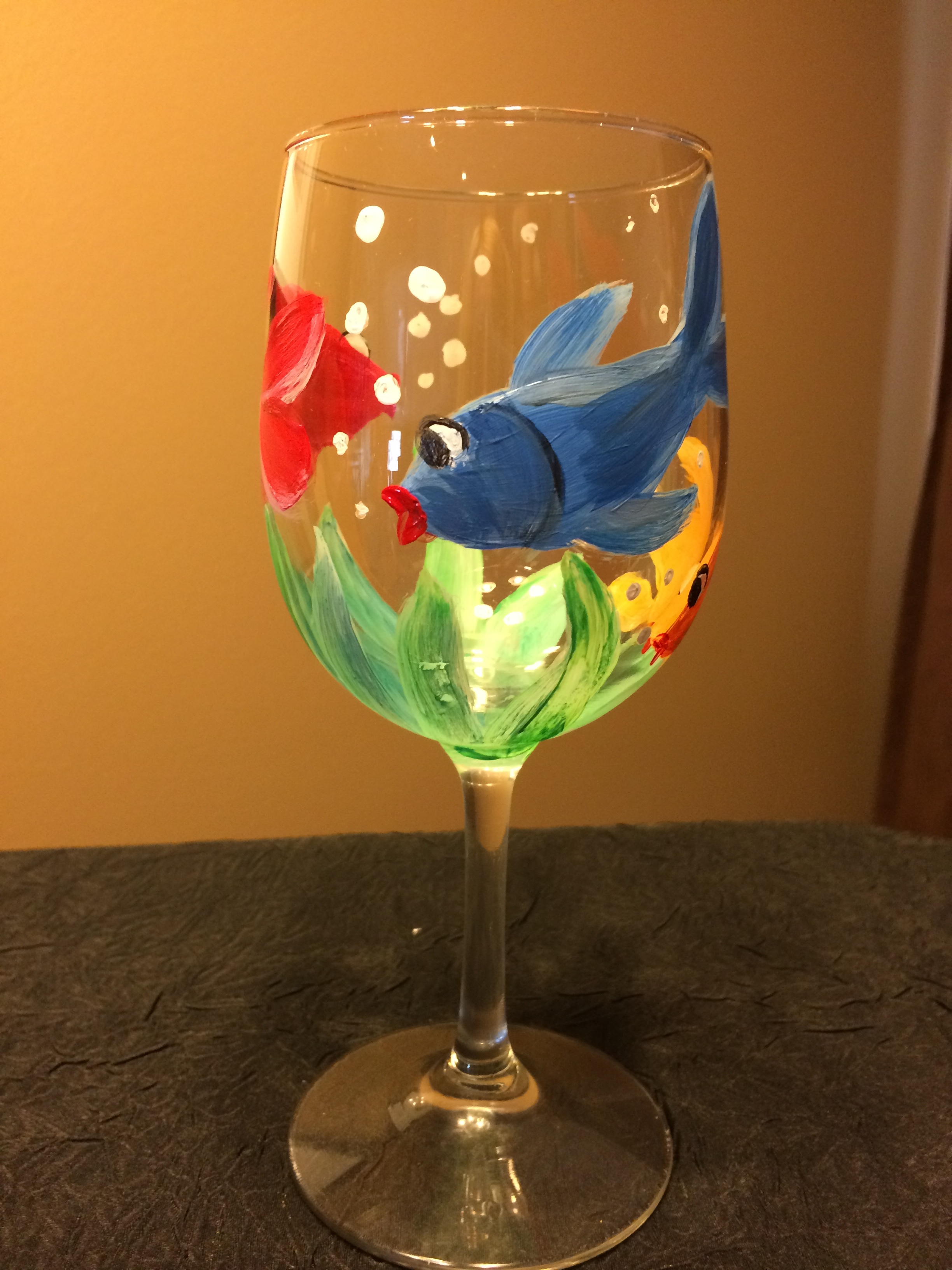 Wine Glass Painting Class