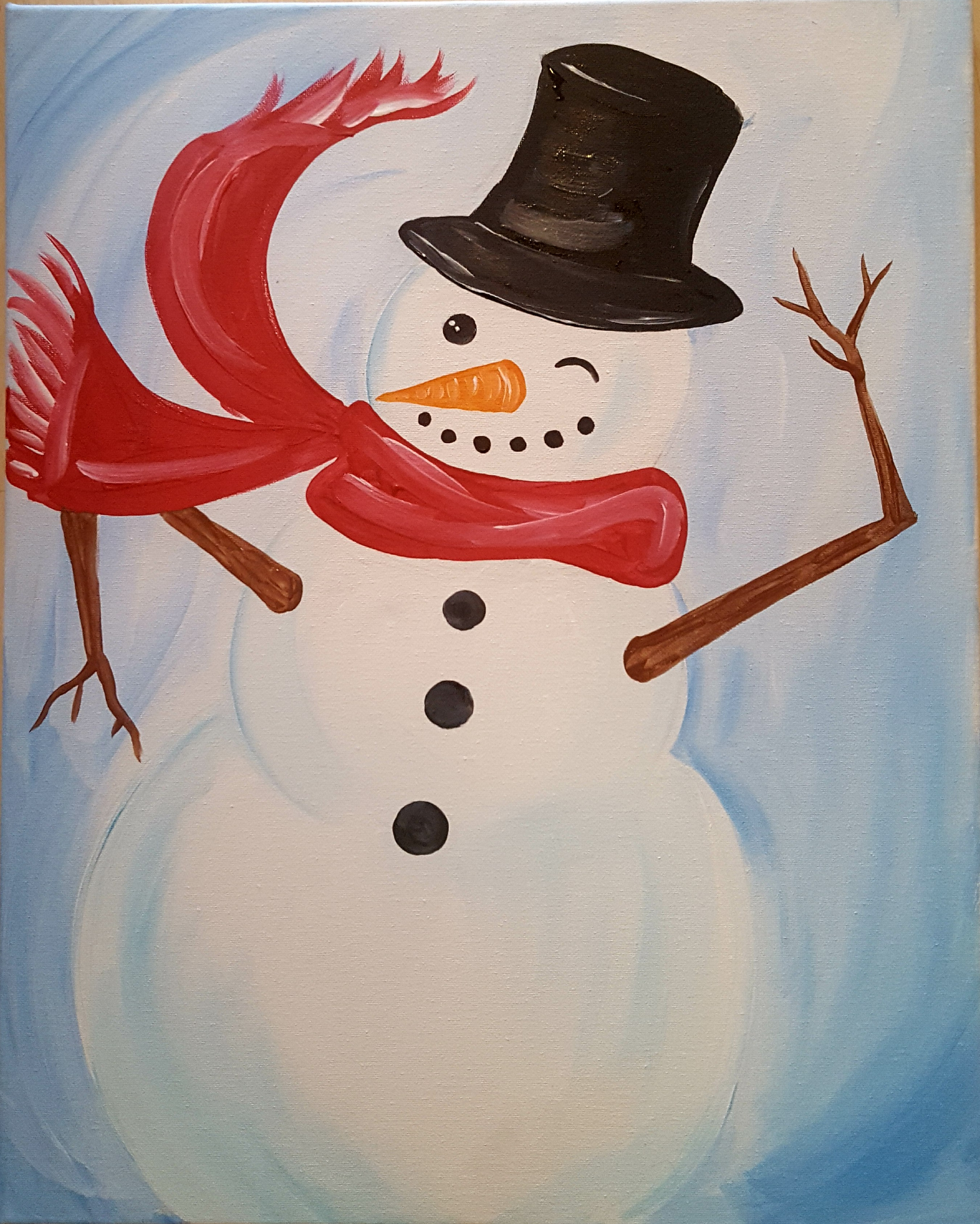 kid snowman